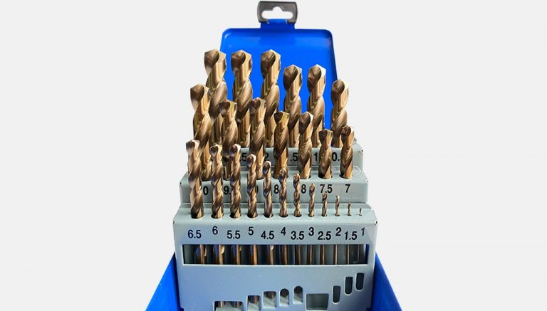 Комплект кобалтови свредла за метал HSS