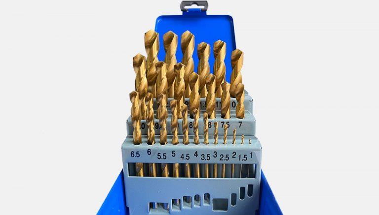 Комплект покрити TIN свредла за метал HSS
