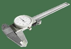 Шублер с индикаторен часовник Image
